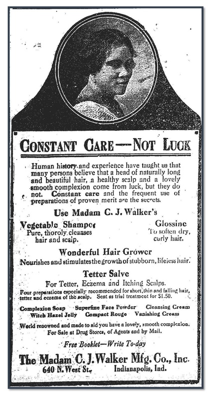 Constant Care  - Not Luck, Baltimore Afro-American 1923