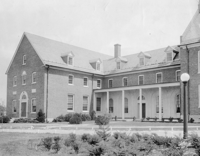 Holloway Hall, northwest wing, 1932